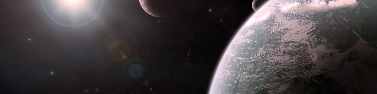 Digital art of Space Scene